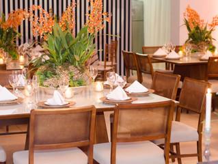 Assessoria e Organização do Jantar de Confraternização  Familiar para Cliente Empresarial