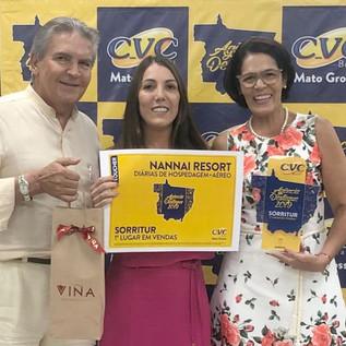 Premiação Agência Destaque 2019 - CVC Mato Grosso