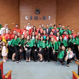Cerimônia de Encerramento do Programa de Residência Médica da UNIC - Universidade de Cuiabá em parce