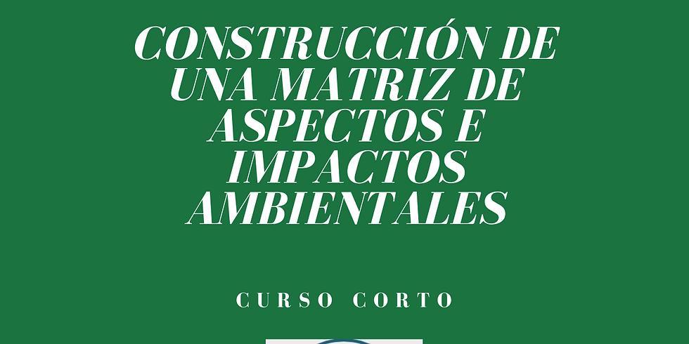 Construcción de una Matriz de Aspectos en Impactos Ambientales