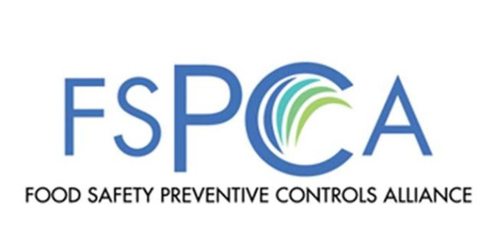 Curso: Controles Preventivos de Alimentos de Consumo Humano (PCQI)  FSPCA/FDA