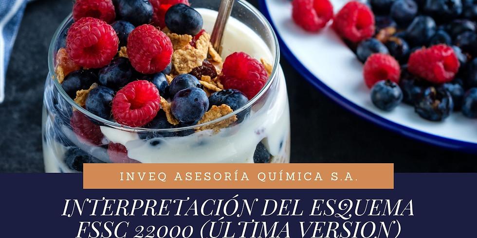 INTERPRETACIÓN DEL ESQUEMA FSSC 22000 V5.1