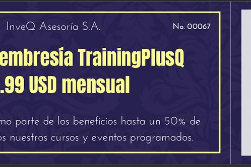 Pago membresía Plan TrainingPlus Q