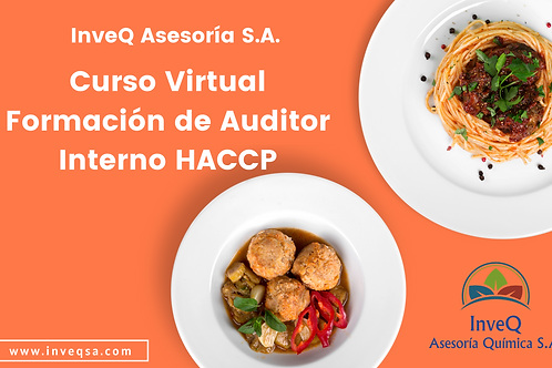 Curso Virtual Formación de Auditor Interno HACCP