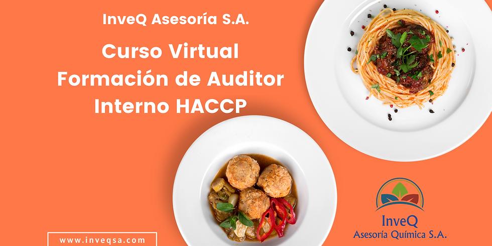 Curso Virtual Formación de Auditor Interno HACCP