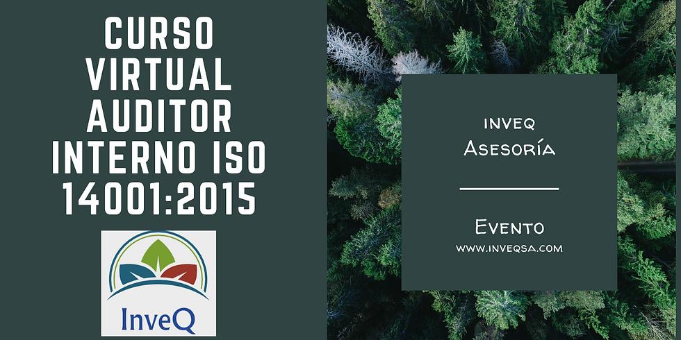 Curso Virtual Auditor Interno ISO 14001:2015
