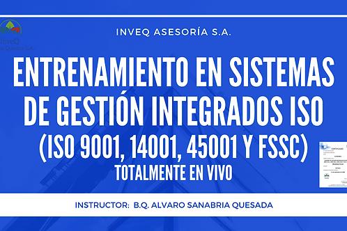 Entrenamiento Integrado en Sistemas de Gestión ISO