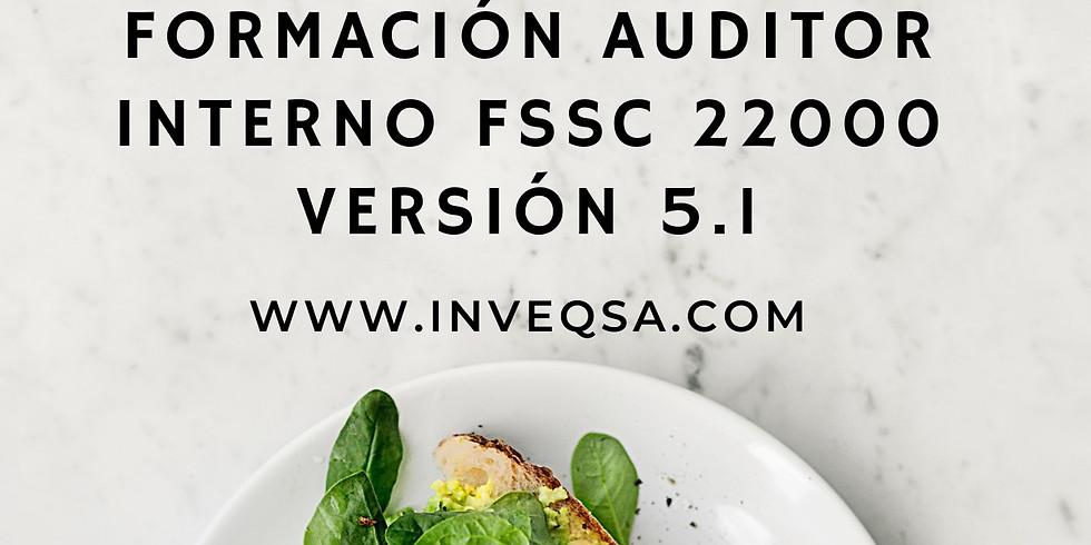 Curso Auditor Interno FSSC 22000 v5.1 (Grupo Cerrado Alimentos Kamuk)