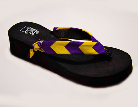 MADALYN (Southern Prep) Purple/Yellow