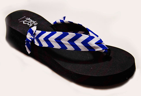 AVA (High Prep) Royal Blue/White