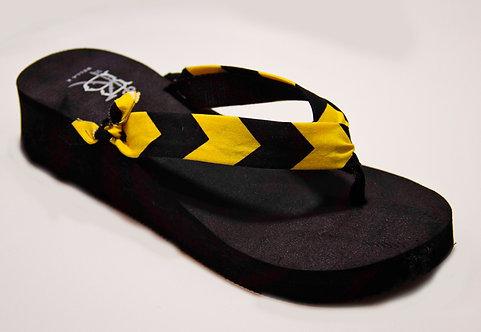 MADALYN (Southern Prep) Black/Yellow
