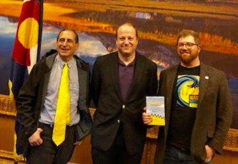 Mathew Klickstein Mike Reiss Governor Jared Polis Simpsons Colorado Springfield Colorado