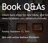 Book Q & A with Deborah Kalb features SLIMED! written by Mathew Klickstein