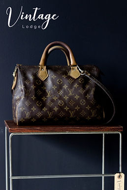1980 Louis Vuitton speedy 35 handtas