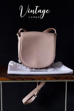 Alexander Wang Lia pink studded leather bag