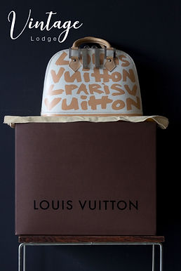 Louis Vuitton Alma - limited edition Stephen Spouse