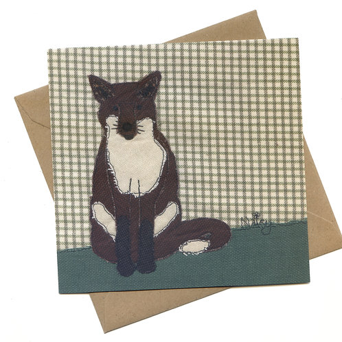 'Mr. Fox' Greeting Card