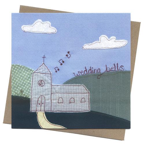 Wedding Bells Church Card