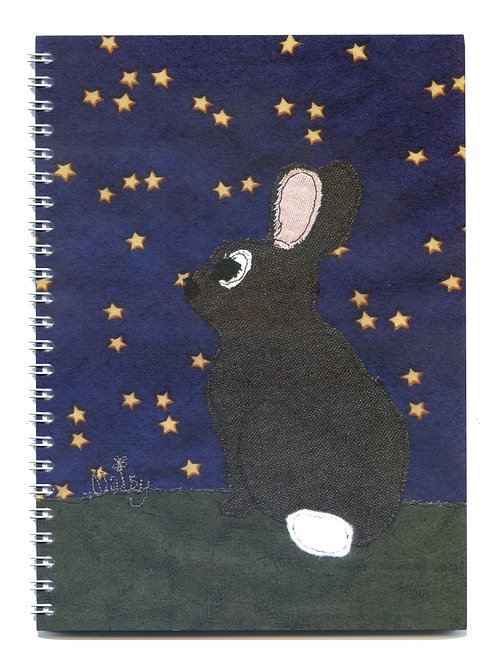 'Any Bunny Out There?' Rabbit Stargazing Notebook