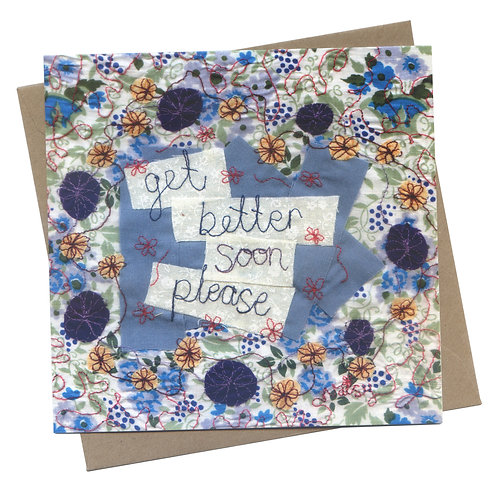 Get Better Soon Please Greeting Card