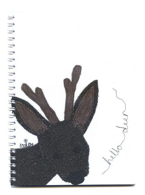 'Hello Deer' Notebook