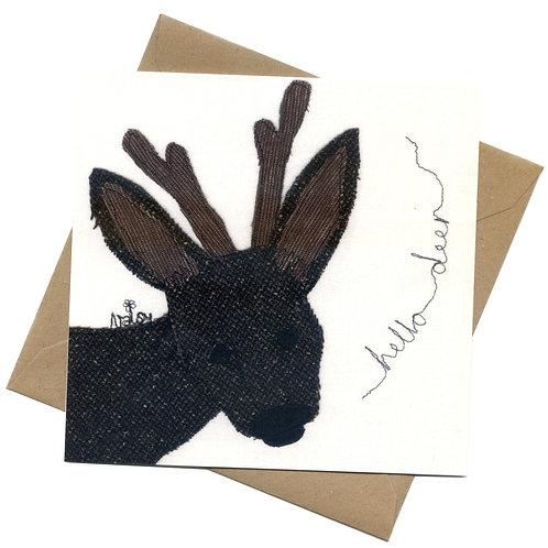 'Hello Deer' Greeting Card