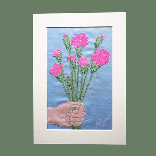 Carnations 'for you'