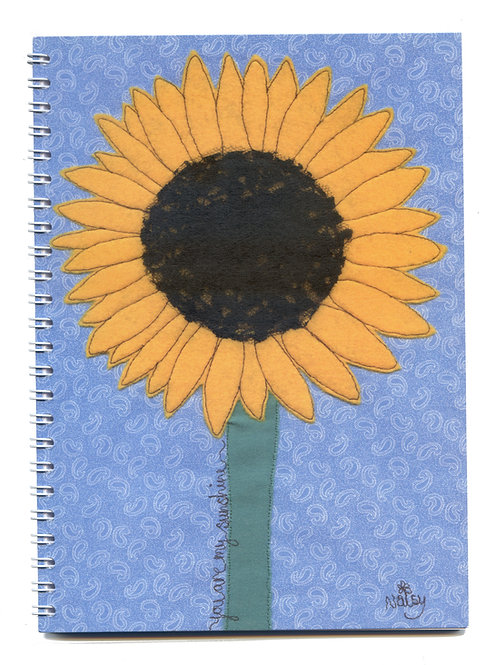 'You Are My Sunshine' Sunflower Notebook