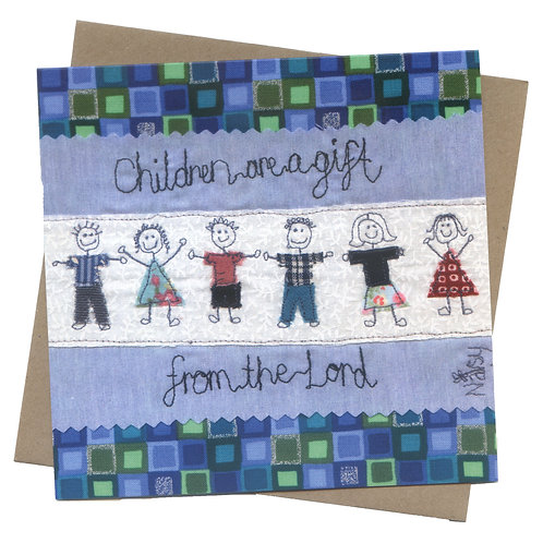 'Children Are A Gift From The Lord' Greeting Card