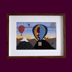 Sarah - Hot Air Balloons - purple