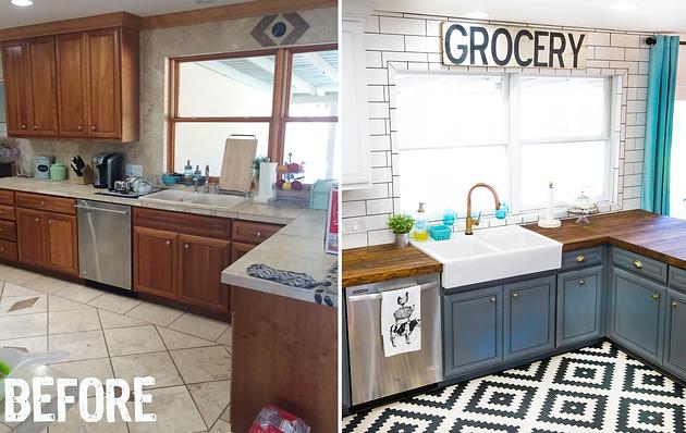 Our Kitchen Facelift Featuring Delta Faucet