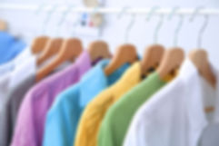 custom embroidered logos and designs on retail apparel