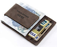 Branded Leather Money Clip.jpg