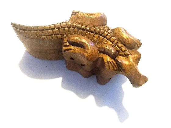 Aligator Crocodile Puzzle Box