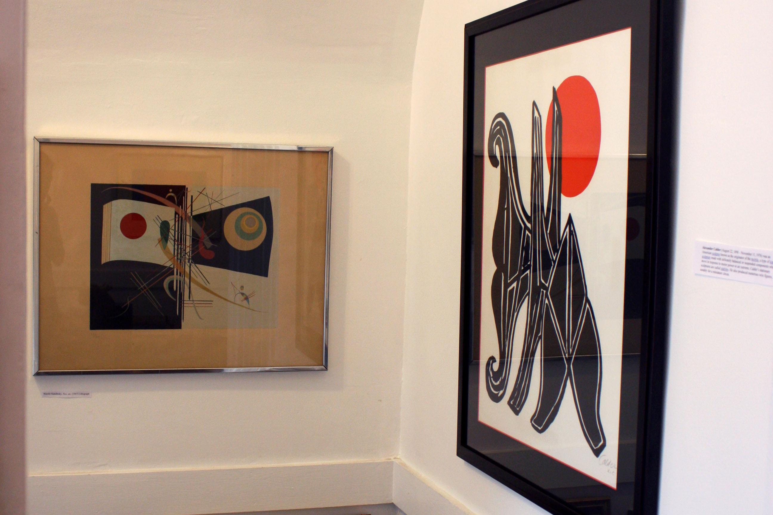 Wassily Kandinsky & Alexander Calder