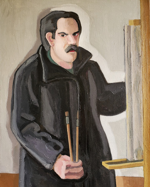 Study of the Artist David George