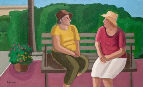 Ladies Conversation in the Park