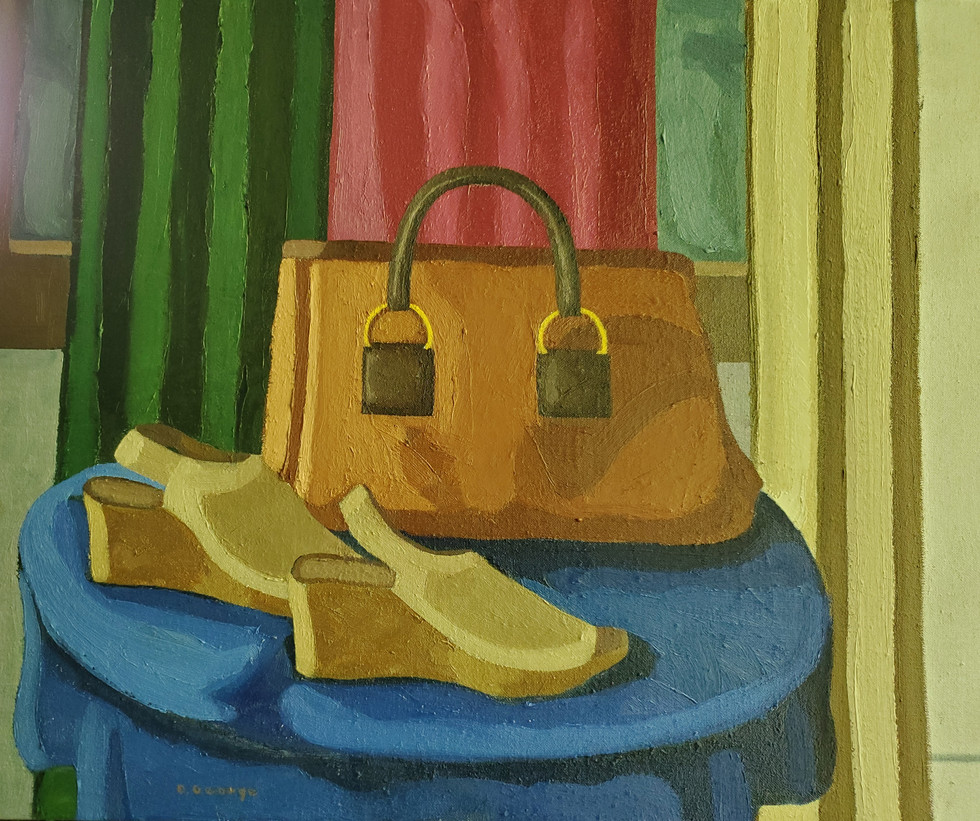 Pocketbook and Shoes