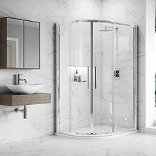Offset Quadrant Shower Enclosure