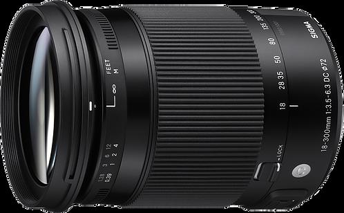 18-300mm F3.5-6.3 DC MACRO OS HSM