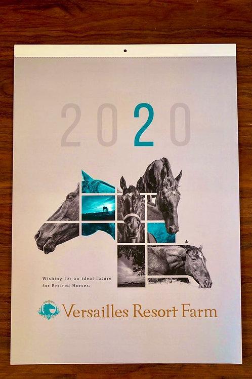 2020年 ヴェルサイユリゾートファーム オリジナルカレンダー