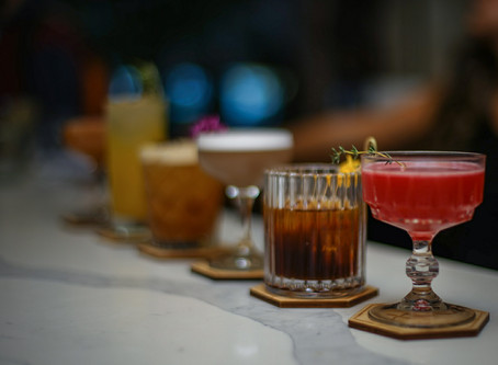 new cocktail menu at pray tell