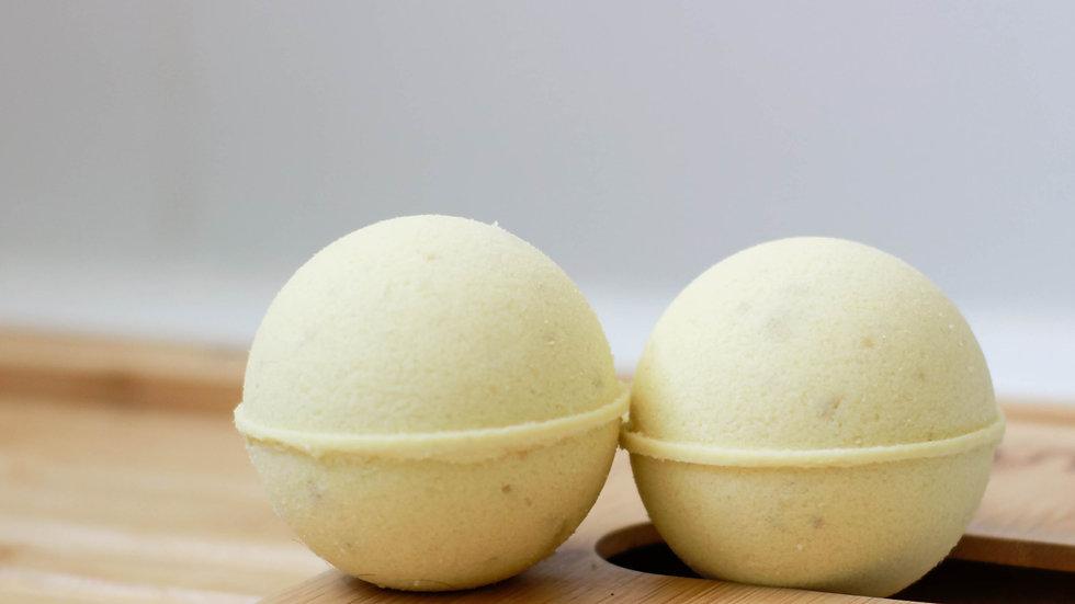 Relaxing Oatmeal , Milk and Honey Bath Bomb