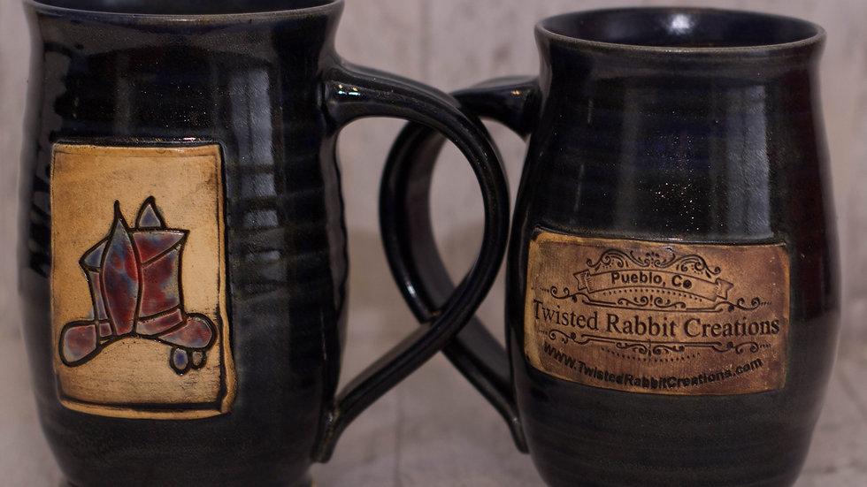 Black Twisted Rabbit Mug