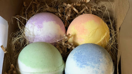 Deep Relief Bath Bomb 4 Pack