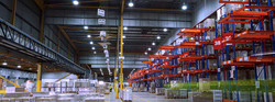 Warehouse-LED-lighting-racking-and-palette-area