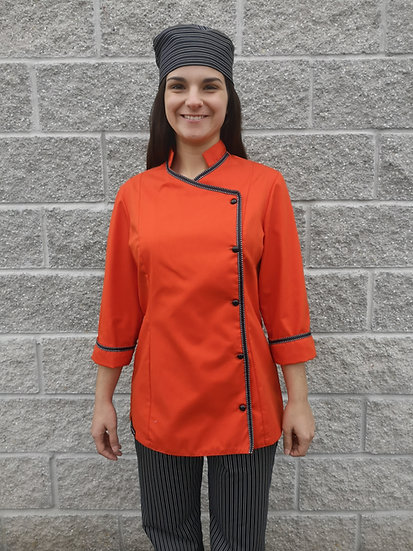 Jaleca Stripe Orange