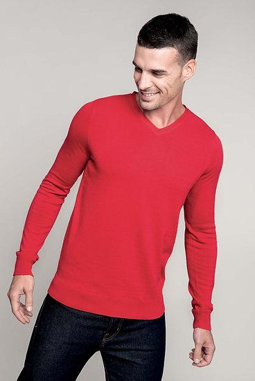 Pullover De Homem Decote V
