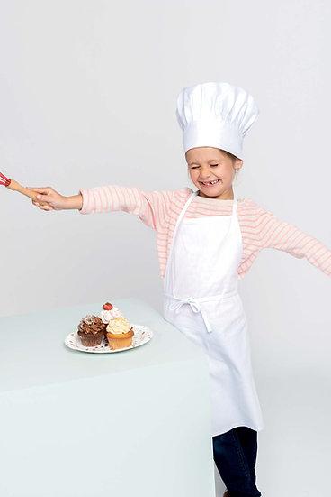 Conjunto de chef de criança