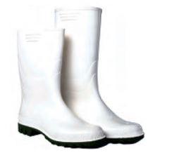 Botas Brancas PVC